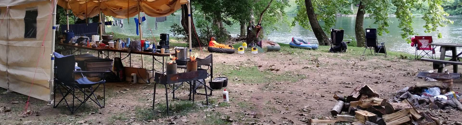 Riverfront Campground The Country Place Cabin Rentals In