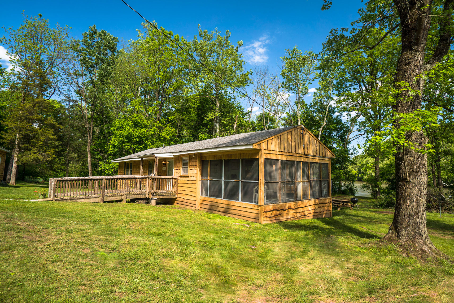 Luray Va Cabin Rentals The Country Place Cabin Rentals In